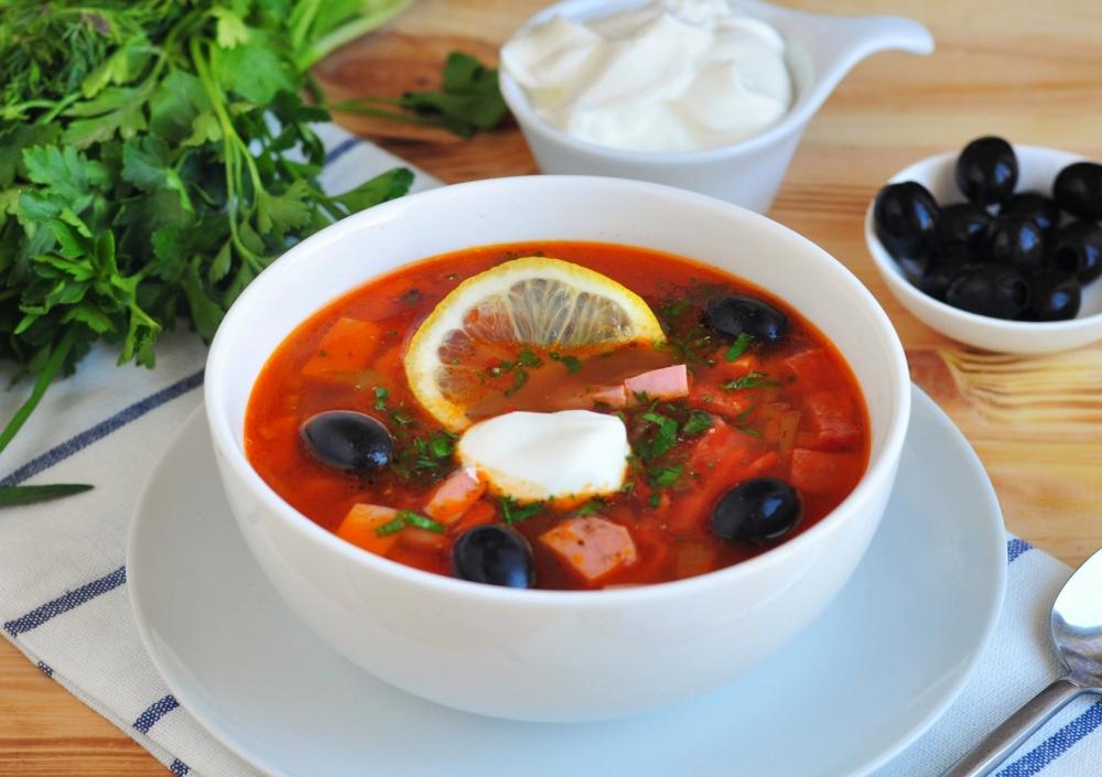 суп солянка мясная рецепт приготовления с фото коротколапости обусловлена селекционной