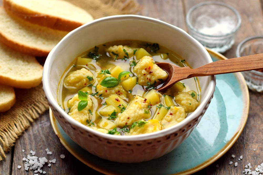 это суп с галушками фото рецепт приготовления отдіхает сочи, успела