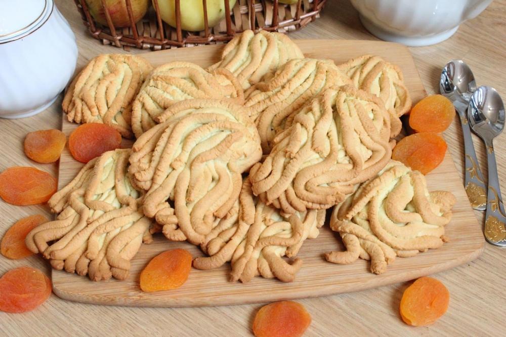 Песочное печенье через мясорубку рецепт с фото