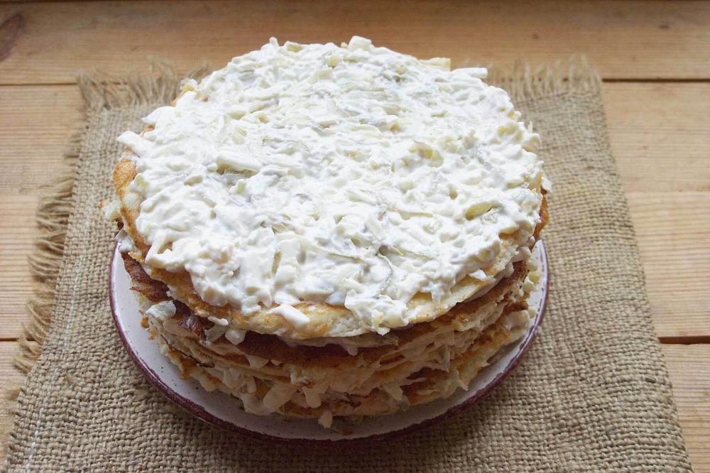 куриный торт рецепт с фото готовим дома них